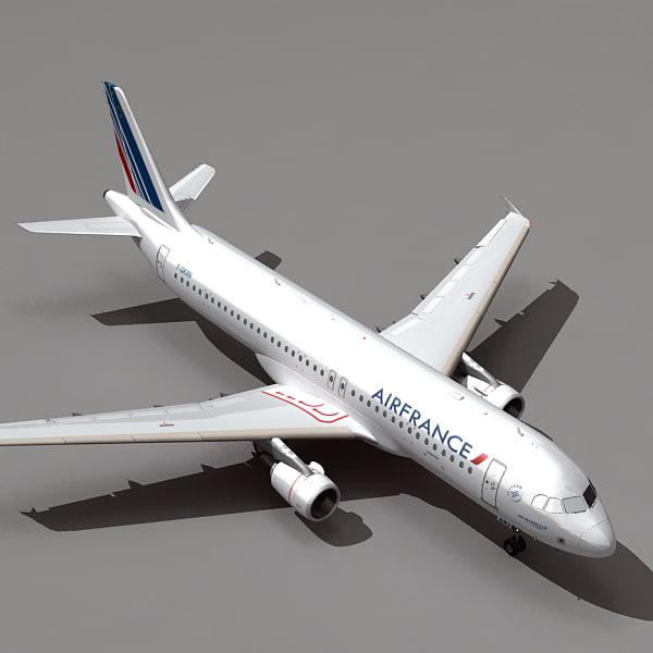 3d airbus a320 airfrance