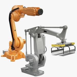 industrial robot 3d ma