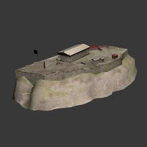3d acropolis