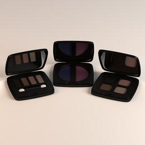 eye shadows set 3ds