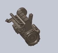 3d model engine diesel
