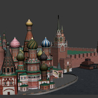 3d model kremlin