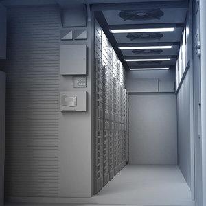 modular center data 3d model