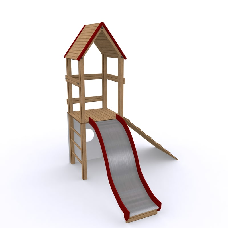 maya playground slide play