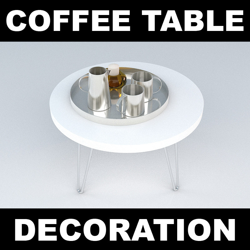 3d sidetable candle