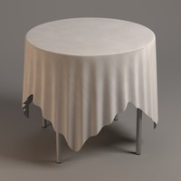 table tableclothes 3d 3ds