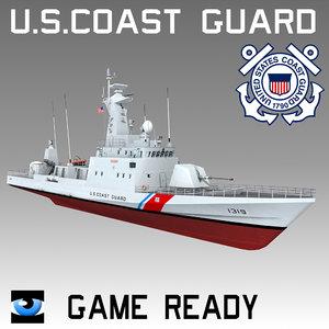 obj coast guard patrol boat