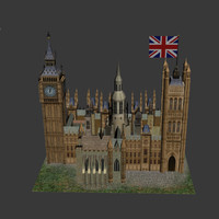 westminster kingdom abby 3d model