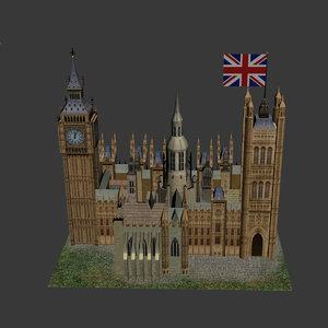 westminster kingdom abby 3d model