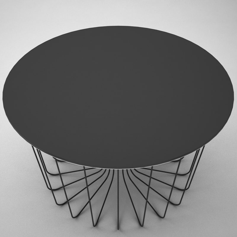 Wire 3d model table wire 3d model greentooth Gallery