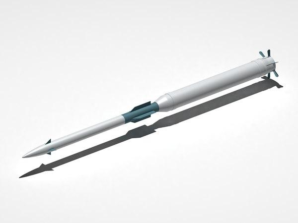9m337 missile obj