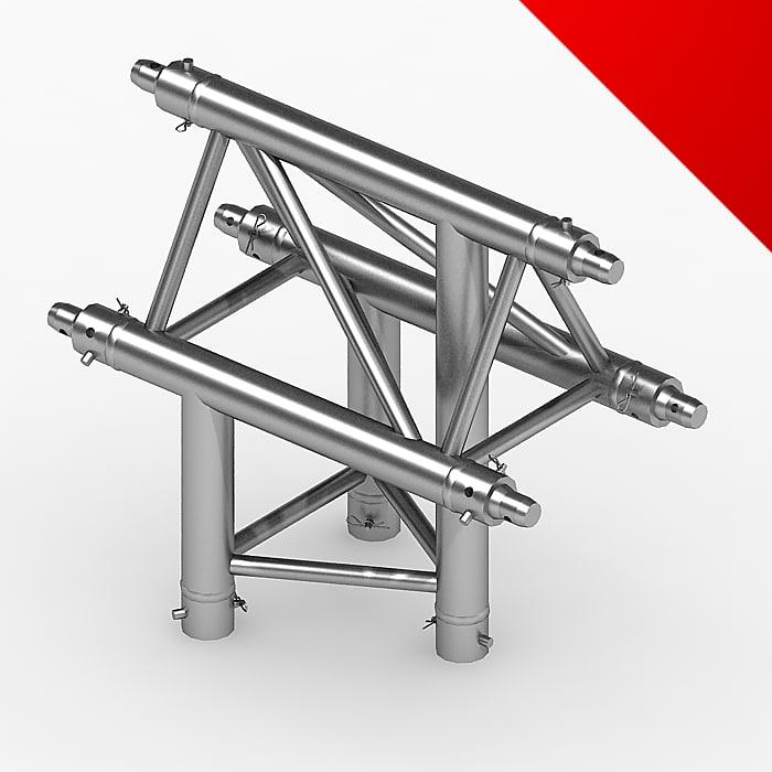 3d truss eurotruss parts model