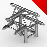 3d truss eurotruss parts model