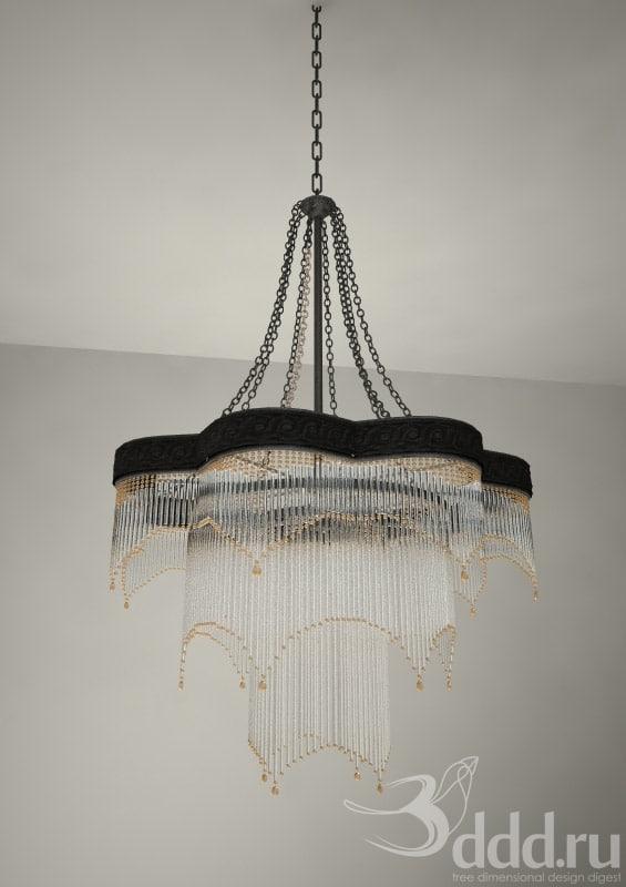 3d chandelier campiluz model