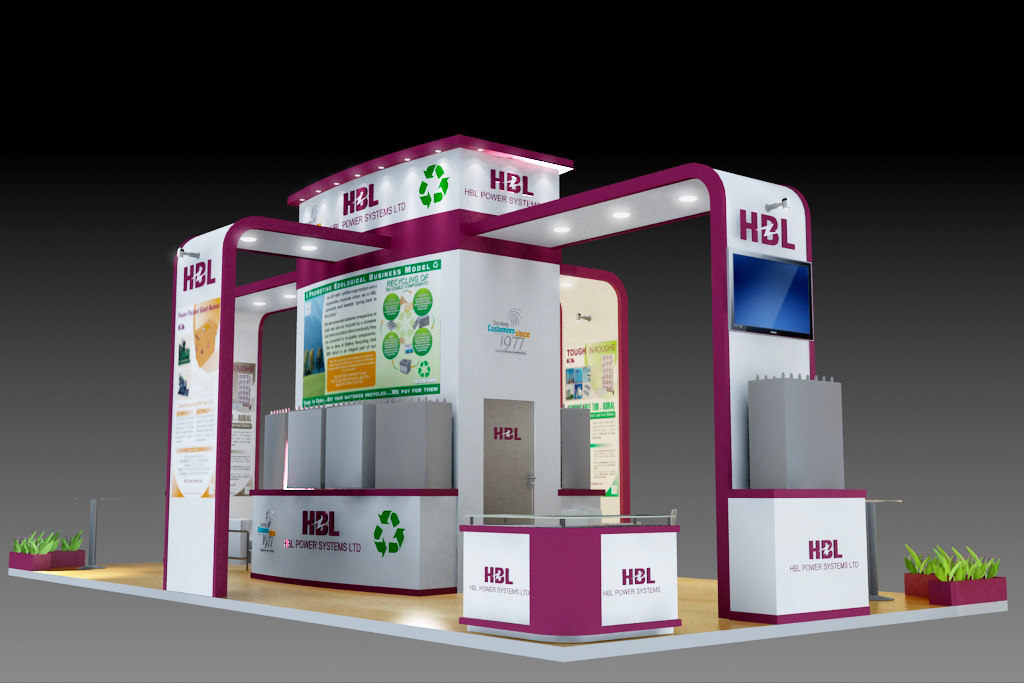 Exhibition Stand 3d Model Free : D model exhibition stand design