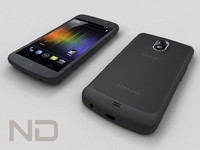 samsung galaxy nexus smartphone 3d model