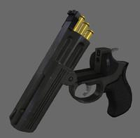 3dsmax mp412 rex revolver