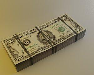 dollars 100 3d 3ds