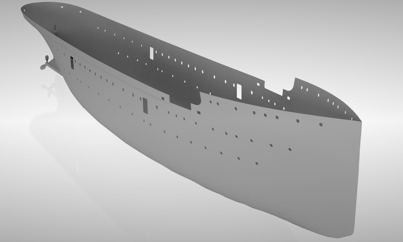 3d passenger hull