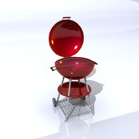 grill barbeque 3d model