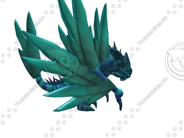 fbx dragon ice