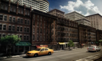 city street 3d model