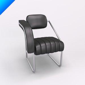 3d model classicon non conformist chair