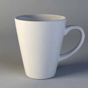 3ds max cup