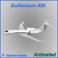 Gulfstream G450 Private livery 2