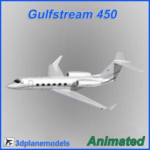 gulfstream g450 3ds