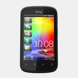 3d htc explorer mobile phone