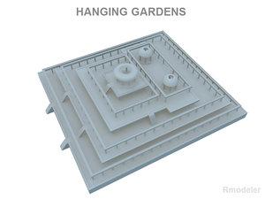 3ds max hanging gardens babylon