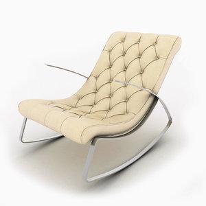 chair leisure js-c803 3d model