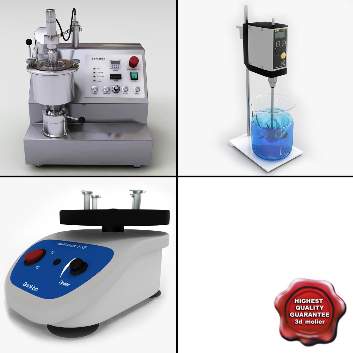 laboratory mixers 3d model