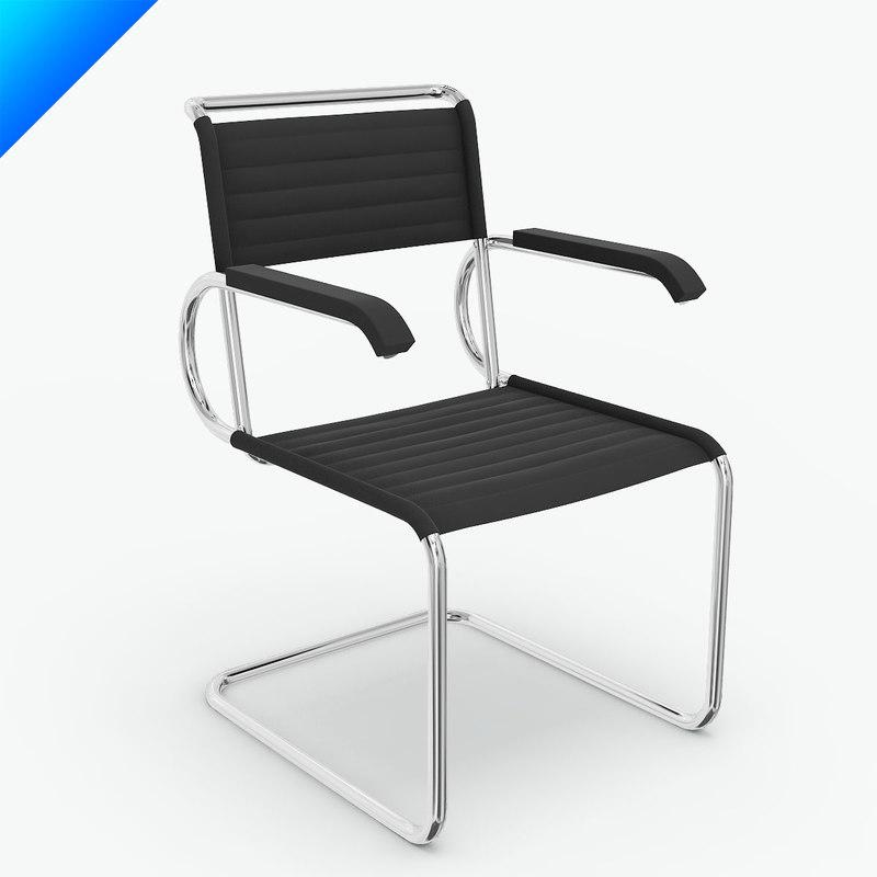 Bauhaus chair breuer - Marcel Breuer D40 Cantilever Armchair