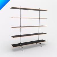 Marcel Breuer Five Shelf Bookcase