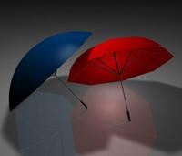 3d c4d umbrella
