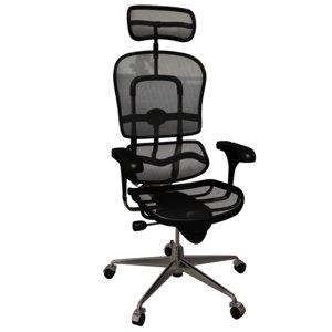 ergon human chair 3d 3ds