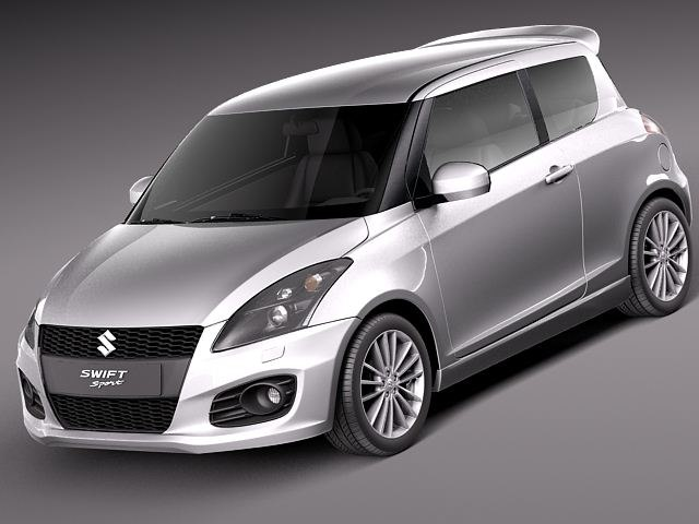 suzuki swift sport 2012 3d max