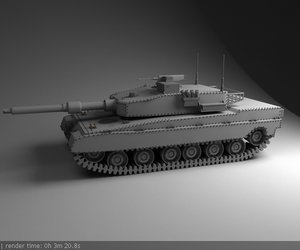 tank 3d max