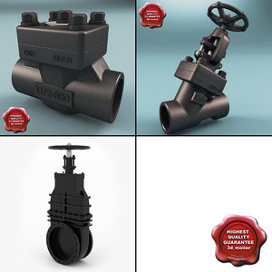 3d model of valves v2