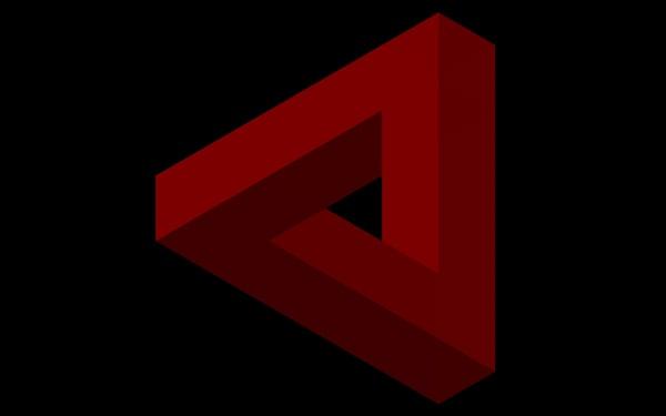 free optic illusion 3d model
