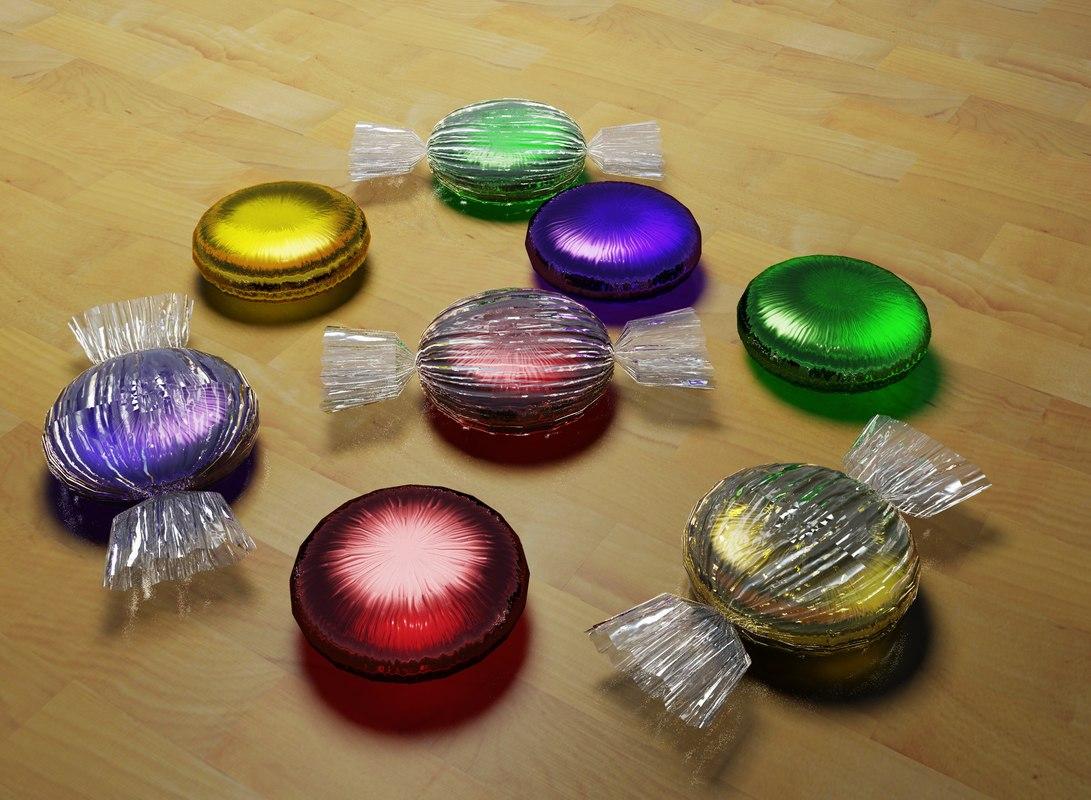 3d dwg hard candy