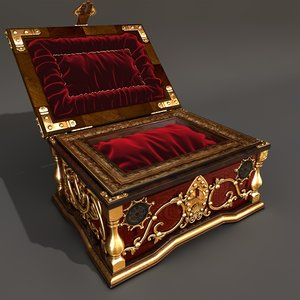 gypsy chest 3d obj
