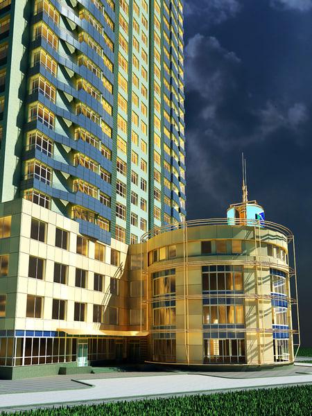 apartment block max