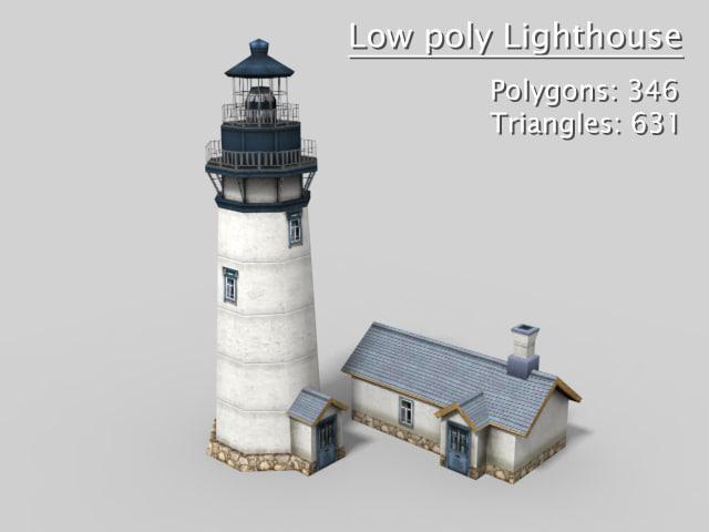 lighthouse polys max
