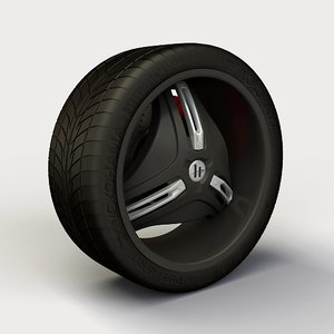 helo 849 rim tyre 3ds