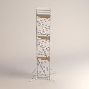 scaffolding 3d model
