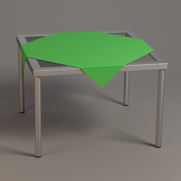 3ds square table