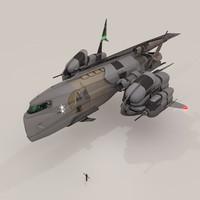 solar starship pheesun 3d blend